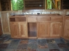 Log House, Custom Cabinet Installation