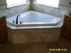 Beautiful Tile Work Around Jetted Tub, Walls, Floor