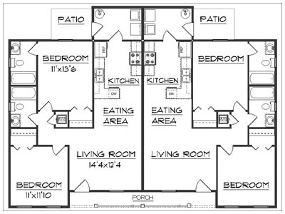 Custom Duplex Plan