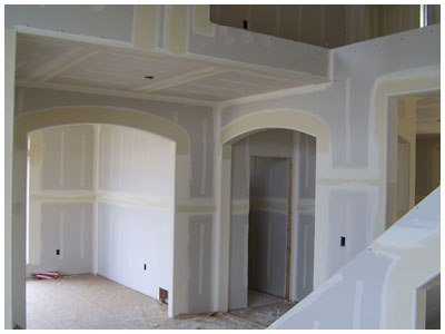 Custom Single Family Home - Drywall Finish