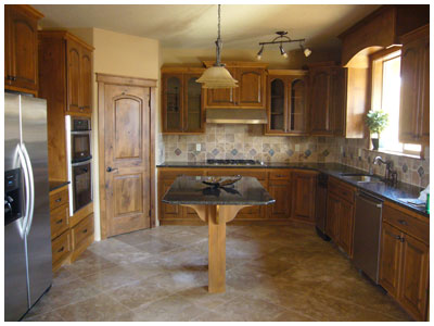 Custom Single Family Home - Custom Kitchen