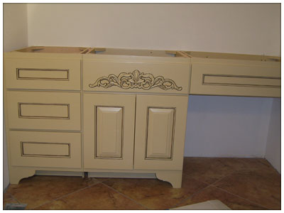 Another Custom Cabinet Installation Example