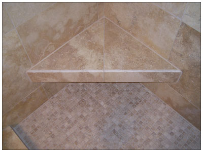 Another Example of Shower Tile Work