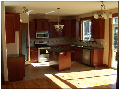 Another kitchen remodeled in Spokane