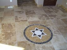 Tile Work - Floor Pattern